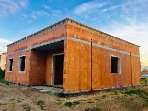 Budowa domu jednorodzinnego w Krzyżanowicach (pow. raciborski) - Firma budowlana BAUMAG