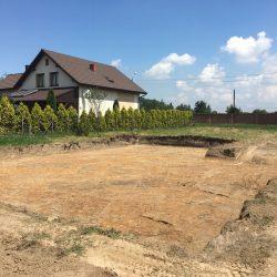 Wyrównywanie działki pod budowę domu jednorodzinnego w Krzyżanowicach - BAUMAG - fot.3