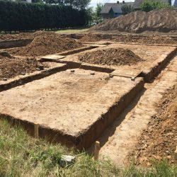 Wykonanie fundamentów pod budowę domu jednorodzinnego w Krzyżanowicach - BAUMAG - fot.3