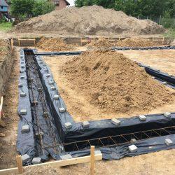 Wykonanie fundamentów pod budowę domu jednorodzinnego w Krzyżanowicach - BAUMAG - fot.5