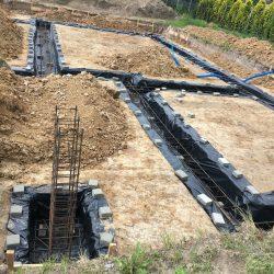 Wykonanie fundamentów pod budowę domu jednorodzinnego w Krzyżanowicach - BAUMAG - fot.6
