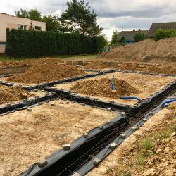 Wykonanie fundamentów pod budowę domu jednorodzinnego w Krzyżanowicach - BAUMAG - fot.7