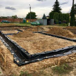 Wykonanie fundamentów pod budowę domu jednorodzinnego w Krzyżanowicach - BAUMAG - fot.8
