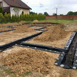 Wykonanie fundamentów pod budowę domu jednorodzinnego w Krzyżanowicach - BAUMAG - fot.9