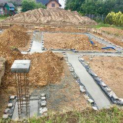 Wykonanie fundamentów pod budowę domu jednorodzinnego w Krzyżanowicach - BAUMAG - fot.11