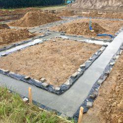 Wykonanie fundamentów pod budowę domu jednorodzinnego w Krzyżanowicach - BAUMAG - fot.12