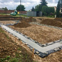 Wykonanie fundamentów pod budowę domu jednorodzinnego w Krzyżanowicach - BAUMAG - fot.13