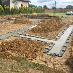 Wykonanie fundamentów pod budowę domu jednorodzinnego w Krzyżanowicach - BAUMAG - fot.14