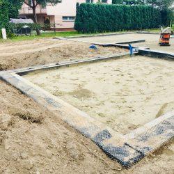Zalanie fundamentów pod budowę domu jednorodzinnego w Krzyżanowicach - BAUMAG - fot.7