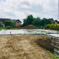 Zalanie fundamentów pod budowę domu jednorodzinnego w Krzyżanowicach - BAUMAG - fot.8