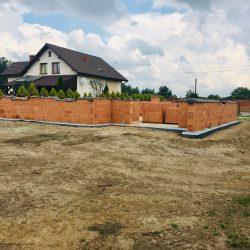 Wykonanie ścian nośnych - stan surowy otwarty domu jednorodzinnego w Krzyżanowicach - BAUMAG - fot.3