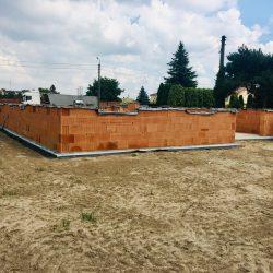 Wykonanie ścian nośnych - stan surowy otwarty domu jednorodzinnego w Krzyżanowicach - BAUMAG - fot.4