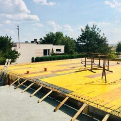 Wykonanie stropu nad parterem - stan surowy otwarty domu jednorodzinnego w Krzyżanowicach - BAUMAG - fot.4