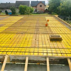 Wykonanie stropu nad parterem - stan surowy otwarty domu jednorodzinnego w Krzyżanowicach - BAUMAG - fot.6
