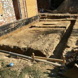 Wykonanie fundamentów i instalacji wod - kan pod rozbudowę domu w Wodzisławiu Śląskim - BAUMAG - fot.1