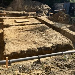 Wykonanie fundamentów i instalacji wod - kan pod rozbudowę domu w Wodzisławiu Śląskim - BAUMAG - fot.2