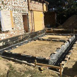 Wykonanie fundamentów pod rozbudowę domu w Wodzisławiu Śląskim - BAUMAG - fot.3