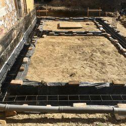 Wykonanie fundamentów pod rozbudowę domu w Wodzisławiu Śląskim - BAUMAG - fot.5