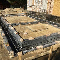 Wykonanie fundamentów pod rozbudowę domu w Wodzisławiu Śląskim - BAUMAG - fot.6