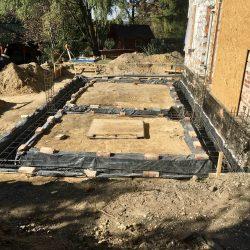 Wykonanie fundamentów pod rozbudowę domu w Wodzisławiu Śląskim - BAUMAG - fot.7