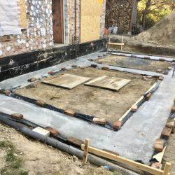 Zalanie fundamentów pod rozbudowę domu jednorodzinnego w Wodzisławiu Śląskim - BAUMAG - fot.2