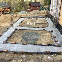 Zalanie fundamentów pod rozbudowę domu jednorodzinnego w Wodzisławiu Śląskim - BAUMAG - fot.3