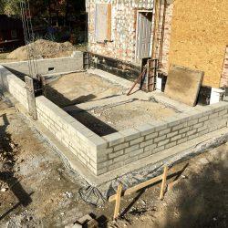Wykonanie ścian fundamentowych pod budowę domu jednorodzinnego w Wodzisławiu Śląskim - BAUMAG - fot.2