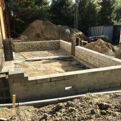 Wykonanie ścian fundamentowych pod budowę domu jednorodzinnego w Wodzisławiu Śląskim - BAUMAG - fot.3