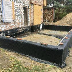 Wykonanie ścian fundamentowych pod budowę domu jednorodzinnego w Wodzisławiu Śląskim - BAUMAG - fot.5