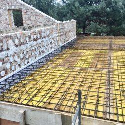 Wykonanie stropu nad parterem w dobudowanej części - BAUMAG - fot.2