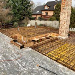 Wykonanie stropu nad parterem w dobudowanej części - BAUMAG - fot.4