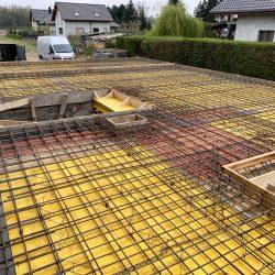 Wykonanie stropu nad piwnicą. Nadbudowa domu jednorodzinnego w Raciborzu - BAUMAG - fot.2