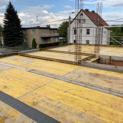 Wykonanie stropu nad parterem. Nadbudowa domu jednorodzinnego w Raciborzu - BAUMAG - fot.2