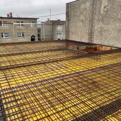 Wykonanie stropu nad parterem. Nadbudowa domu jednorodzinnego w Raciborzu - BAUMAG - fot.6