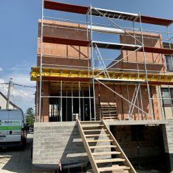 Wykonanie drugiej kondygnacji domu jednorodzinnego w Raciborzu - BAUMAG - fot.1
