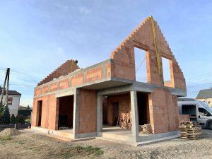 Budowa domu jednorodzinnego z garażem - Firma budowlana BAUMAG