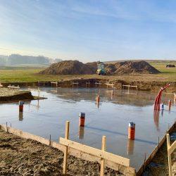 Wykonanie fundamentów i instalacji wod - kan pod budowę domu jednorodzinnego w Owsiszczach - BAUMAG - fot.3