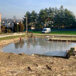 Wykonanie fundamentów i instalacji wod - kan pod budowę domu jednorodzinnego w Owsiszczach - BAUMAG - fot.4