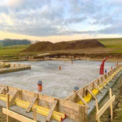 Wykonanie fundamentów i instalacji wod - kan pod budowę domu jednorodzinnego w Owsiszczach - BAUMAG - fot.5