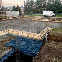 Wykonanie fundamentów i instalacji wod - kan pod budowę domu jednorodzinnego w Owsiszczach - BAUMAG - fot.7