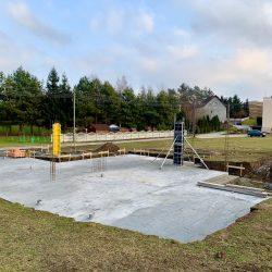 Wykonanie ścian fundamentowych pod budowę domu jednorodzinnego, Owsiszcze - BAUMAG - fot.2
