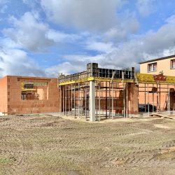 Wykonanie ścian nośnych - stan surowy otwarty domu jednorodzinnego, Owsiszcze - BAUMAG - fot.3