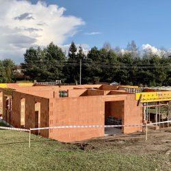 Wykonanie ścian nośnych - stan surowy otwarty domu jednorodzinnego, Owsiszcze - BAUMAG - fot.4