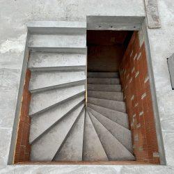 Schody łączące kondygnacje domu jednorodzinnego, Owsiszcze - BAUMAG