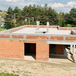 Dom jednorodzinny niepodpiwniczony w stanie surowym otwartym w Owsiszczach - BAMUAG - fot.3
